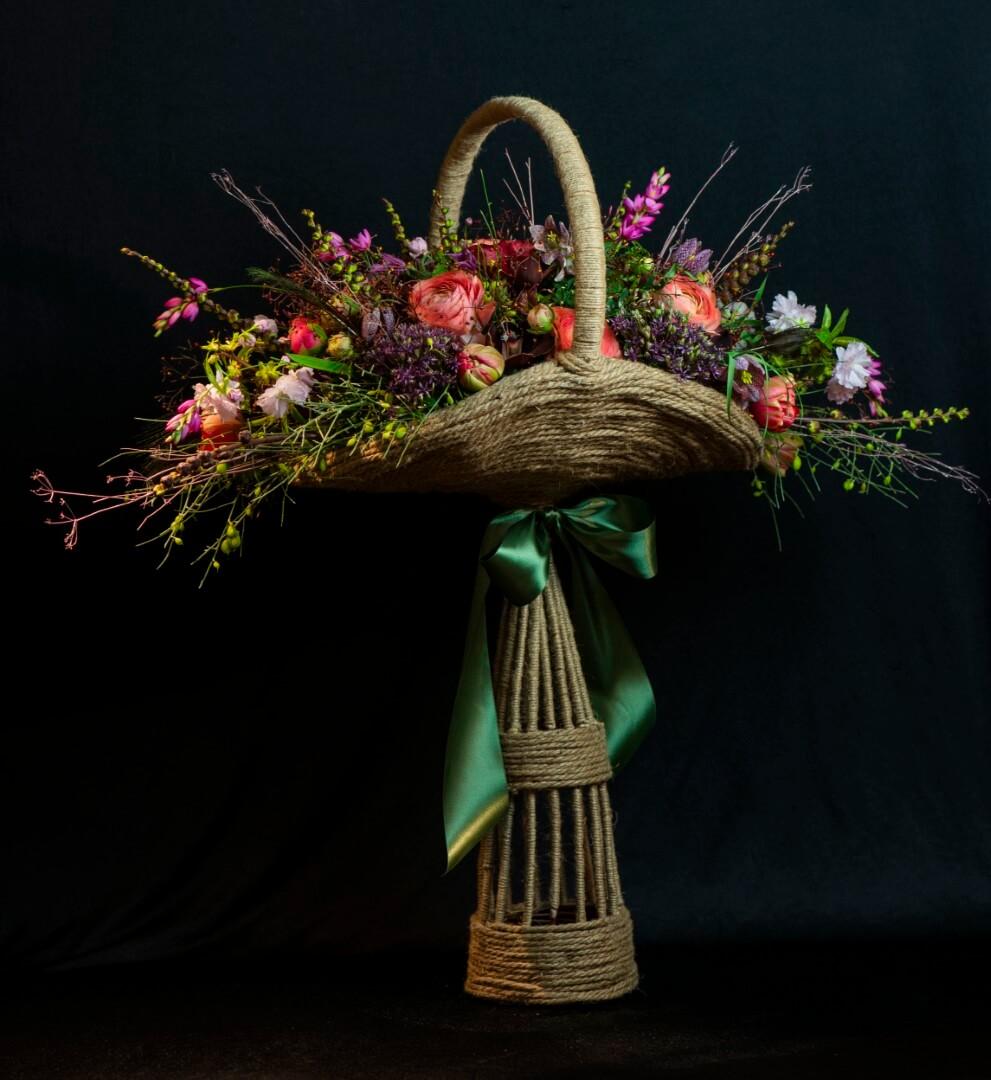 Meesterbinders opleiding Floral Academy Laura